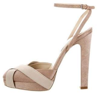 Stella McCartney Crossover Platform Sandals