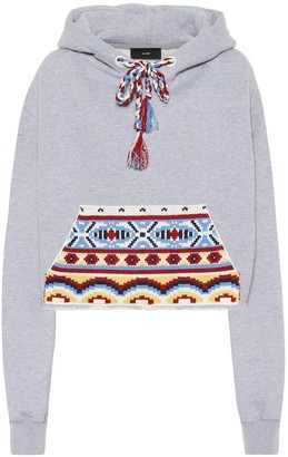 Alanui Cotton and cashmere hoodie