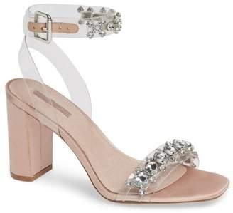 Topshop Rochelle Embellished Perspex Sandal