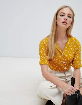 New Look Ditsy Floral Blouse