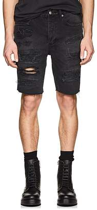 Ksubi Men's Axel Distressed Denim Shorts