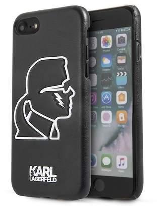 Karl Lagerfeld Glow in the Dark Silhouette iPhone 7 & iPhone 8 Case