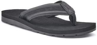 Men's Vintage Stone Thong Flip-Flop Sandals