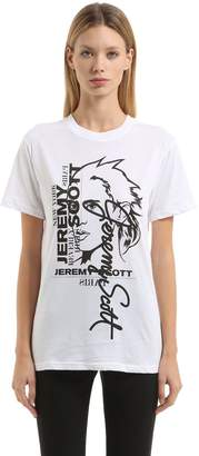 Jeremy Scott 20th Anniversary Oversize Cotton T-Shirt