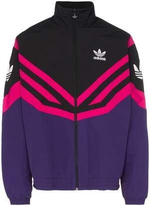 adidas Sportive stripe track jacket