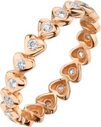 Shay Jewelry Heart Eternity Ring