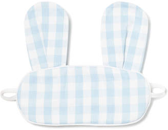 Petite Plume Kids' Bunny Gingham Eye Mask
