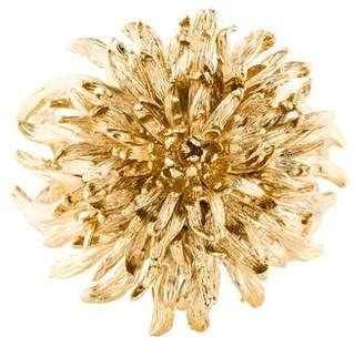 Alexander McQueen Chrysanthemum Cuff