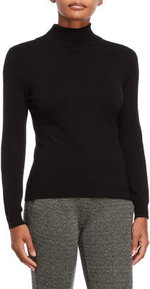 Vila Milano Button-Back Turtleneck Sweater