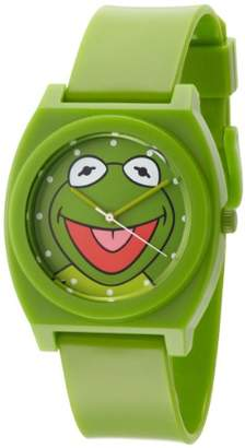Disney Muppets Men's MU1004 Kermit the Frog Dial Plastic Strap Watch