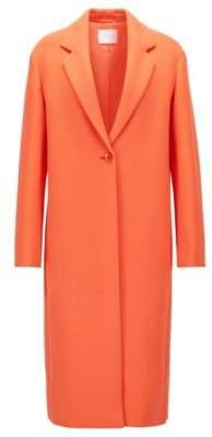 BOSS Hugo Single-Button Coat Calenara GC 6 Orange