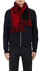 "The Elder Statesman X NBA X NBA MEN'S ""TORONTO RAPTORS"" CASHMERE SCARF-BLACK"