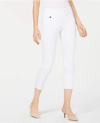 Alfani Tummy-Control Cropped Skinny Pants