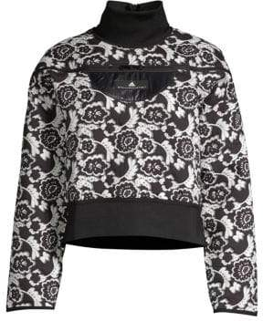 adidas by Stella McCartney Floral Run Sweater