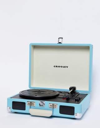Crosley Cruiser Deluxe Record Player - Turquoise