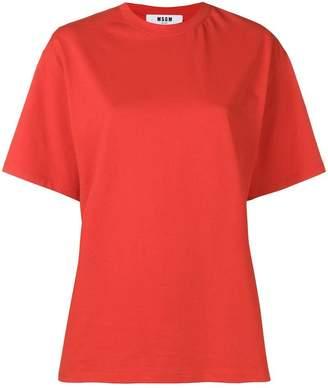 MSGM back print T-shirt