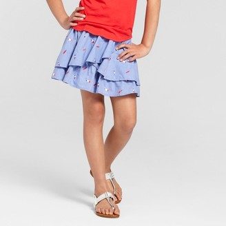 Cat & Jack Girls' Popsicle Print Skirt Cat & Jack - Blue $14.99 thestylecure.com