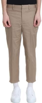 Neil Barrett Beige Cotton Pants