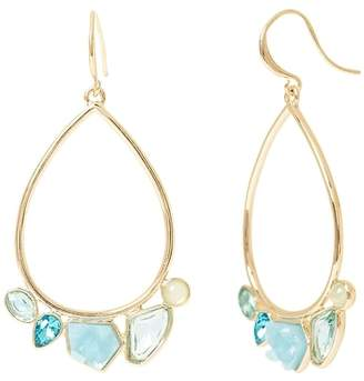Banana Republic Soft Stones Hoop Earring