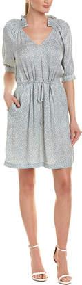 Rebecca Taylor Lauren Silk Shift Dress
