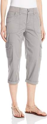Lee Women's Relaxed Fit Austyn Knit Waist Capri Pant