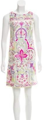 Emilio Pucci Silk Printed Dress