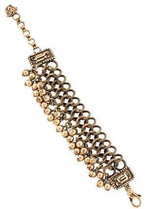 VersaceVersace Textured Link Bracelet