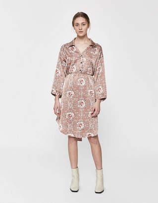 Farrow Natalie Tie-Waist Dress