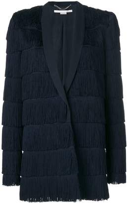 Stella McCartney fringe-trimmed Tia jacket
