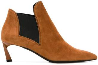 Lanvin twisted heel ankle boots