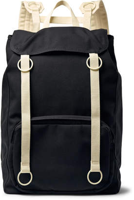 Raf Simons Eastpak Webbing-Trimmed Canvas Backpack - Men - Gray
