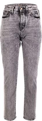 Saint Laurent High-waist Straight Jeans