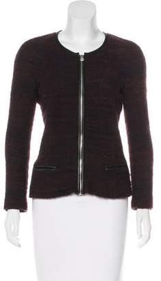Etoile Isabel Marant Leather-Trimmed Jacket