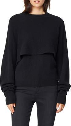 Habitual Joell Popover Cashmere Sweater