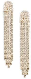 Adriana Orsini Crystal Tassel Earrings