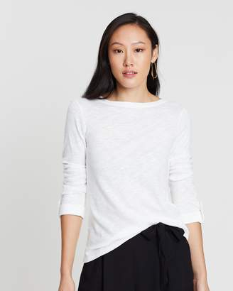 Dorothy Perkins Slub Button Tab Tee