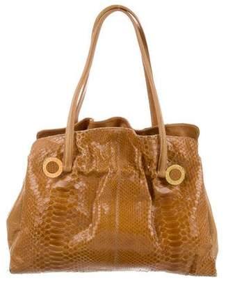 Bvlgari Python Shoulder Bag