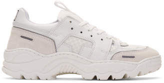 Ami Alexandre Mattiussi White Running Lucky 9 Sneakers