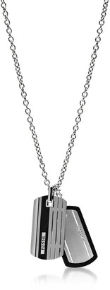 Fossil ID Tag Men's Necklace