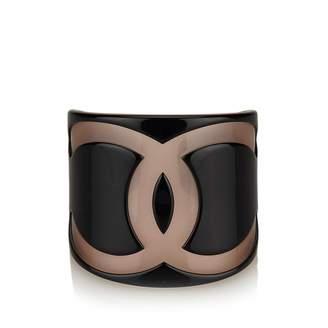Chanel Ecru Plastic Bracelet