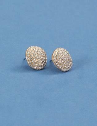 Lane Bryant Pave Encrusted Stud Earrings