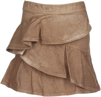 Isabel Marant Short Denim Skirt Coati
