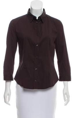 Prada Tailored Button-Up