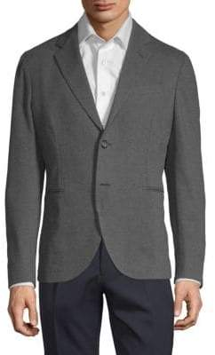 James Perse Cotton-Blend Suit Jacket