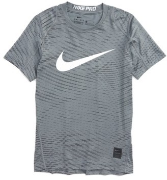 Boy's Nike Pro Dry Fitted Logo T-Shirt