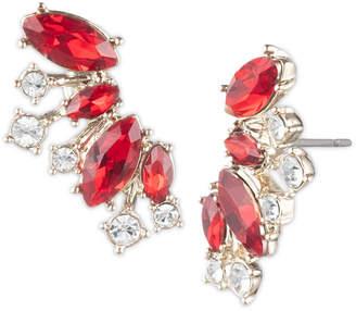 Givenchy Crystal Climber Earrings
