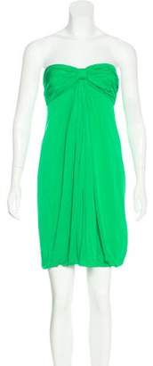 Marc Jacobs Strapless Pleated Dress