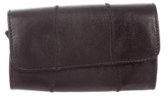 Carlos Falchi Small Leather Clutch