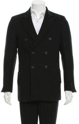 Calvin Klein Collection Double-Breasted Cashmere Peacoat