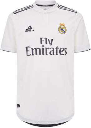 adidas Real Madrid Home Authentic Jersey